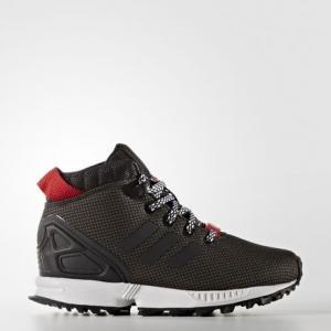 Кроссовки ZX Flux 5/8 Trail  Originals adidas. Цвет: черный
