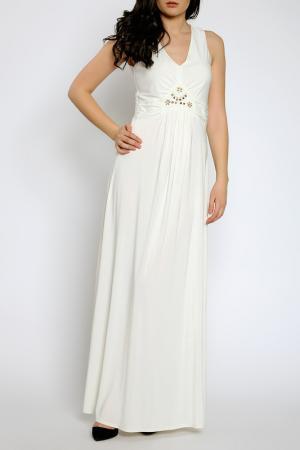 Платье Moda di Chiara. Цвет: белый