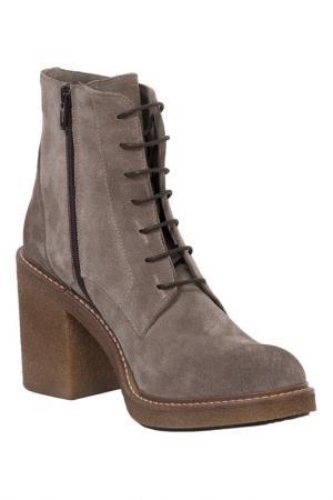 Ботинки ANDREA CARDONE. Цвет: серый