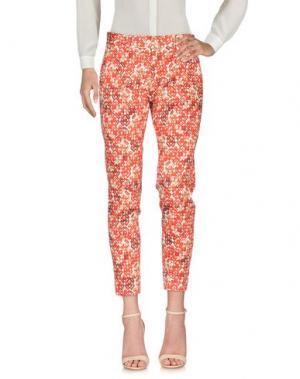 Повседневные брюки MÊME by GIAB'S. Цвет: красный