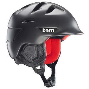 Шлем для сноуборда  Snow Zipmold Kingston Satin Gunmetal Grey/Black Liner Bern. Цвет: серый