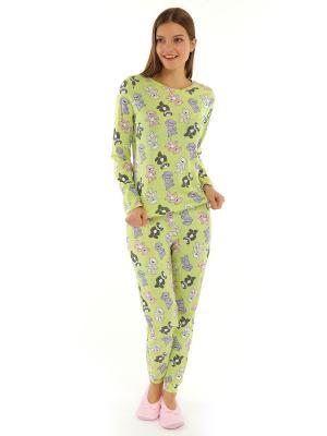 Пижама ТВОЕ. Цвет: зеленый