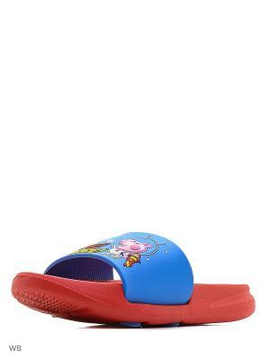 Пантолеты Kakadu. Цвет: синий, красный