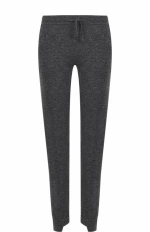 Кашемировые брюки прямого кроя FTC. Цвет: темно-серый