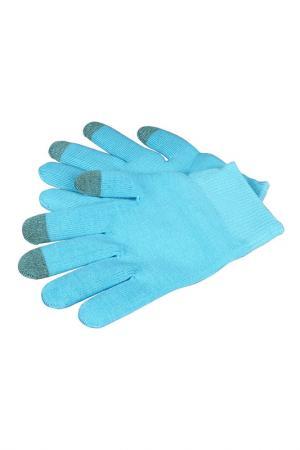 Увлажняющие гелевые перчатки Medolla. Цвет: бирюзовый