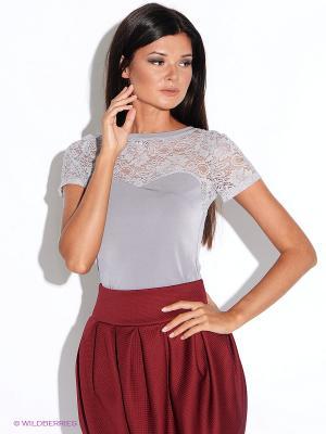 Блузка Alina Assi. Цвет: серый