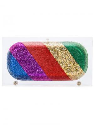 Клатч Rainbow Pill Sarah's Bag. Цвет: многоцветный