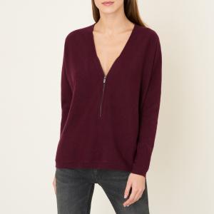 Пуловер на молнии THE KOOPLES SPORT. Цвет: бордовый