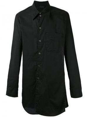 Рубашка на пуговицах Ann Demeulemeester. Цвет: чёрный