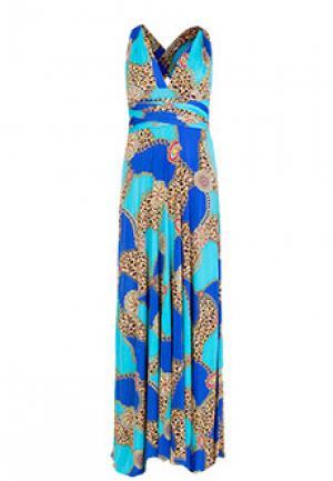 Платье VON VONNI. Цвет: голубой