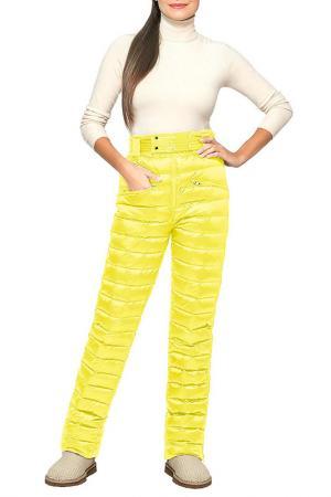 Брюки Conso. Цвет: желтый