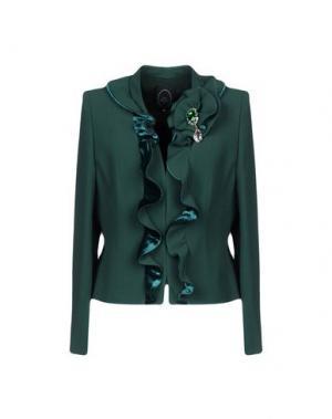 Пиджак IVAN MONTESI. Цвет: темно-зеленый