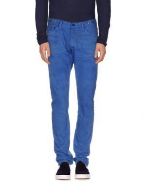 Джинсовые брюки PRPS. Цвет: лазурный
