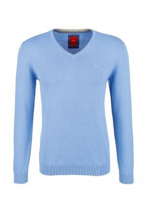 Пуловер s.Oliver. Цвет: голубой
