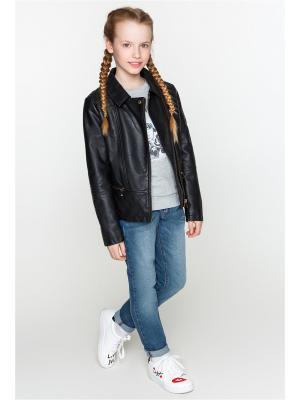 Куртка ACOOLA. Цвет: черный