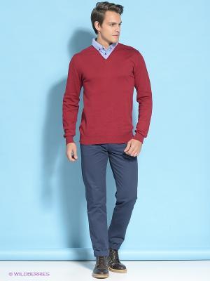 Пуловер E-Bound by Earth Bound. Цвет: синий, красный