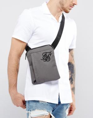 SikSilk Серая сумка для авиапутешествий. Цвет: зеленый