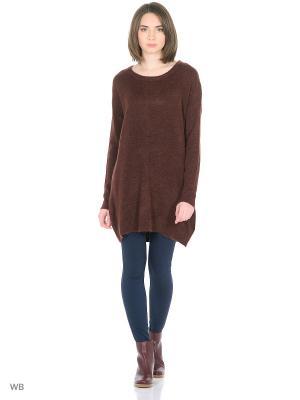 Туника Vero moda. Цвет: коричневый, черный
