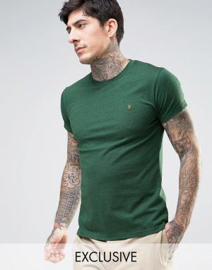 Farah Зеленая меланжевая футболка эксклюзивно для. Цвет: зеленый