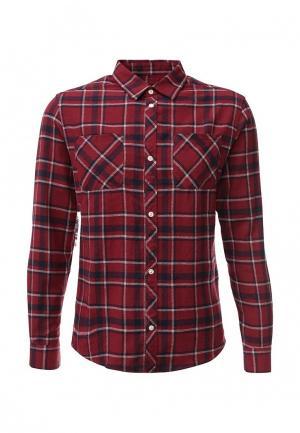 Рубашка d-Struct. Цвет: бордовый