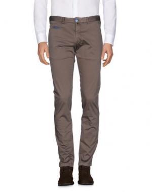 Повседневные брюки VERDERA. Цвет: какао