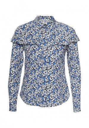 Блуза Zarina. Цвет: синий