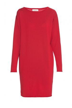 Платье из шерсти 179759 Baroni. Цвет: красный