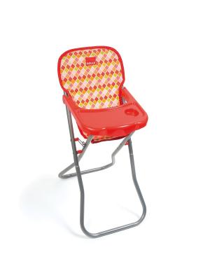 Кукольный стульчик для кормления Goula. Цвет: оранжевый