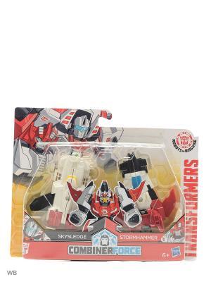 Трансформеры роботы под прикрытием: крэш-комбайнер Transformers. Цвет: белый