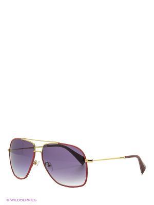 Солнцезащитные очки BLD 1636 401 Baldinini. Цвет: красный, золотистый
