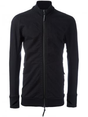 Легкая куртка на молнии 11 By Boris Bidjan Saberi. Цвет: чёрный