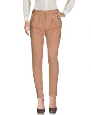Повседневные брюки INTROPIA. Цвет: песочный