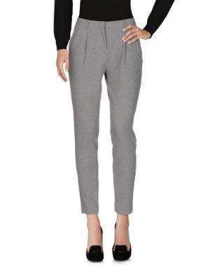 Повседневные брюки GRAN SASSO. Цвет: светло-серый