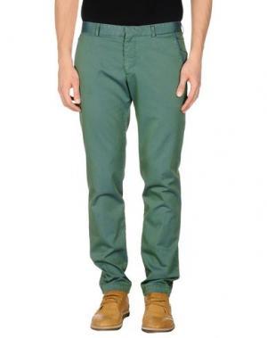 Повседневные брюки MANUEL RITZ. Цвет: изумрудно-зеленый