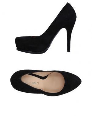 Туфли LELLA BALDI. Цвет: черный