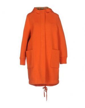 Пальто .TESSA. Цвет: оранжевый