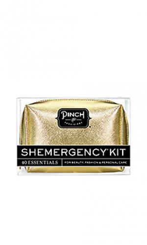 Metallic shemergency kit Pinch Provisions. Цвет: металлический золотой
