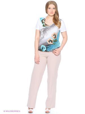 Блузка СТиКО. Цвет: белый, черный, зеленый, бирюзовый, серый, коричневый