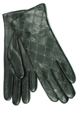 Перчатки Dali Exclusive. Цвет: черный, зеленый