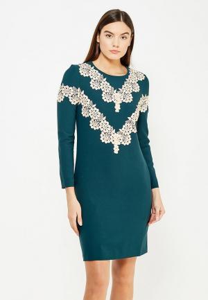 Платье Aelite. Цвет: зеленый