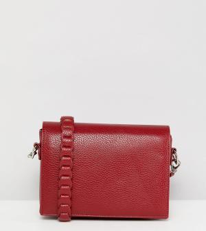 Street Level Бордовая сумка через плечо. Цвет: красный