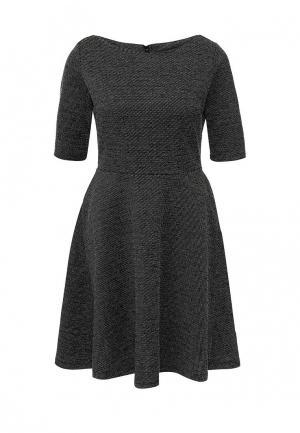 Платье Bestia. Цвет: серый