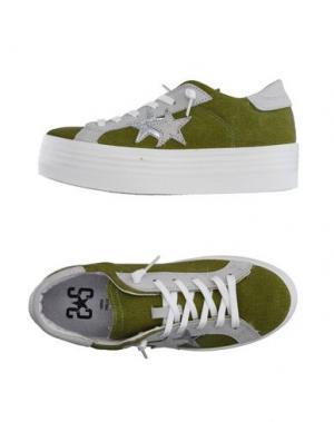 Низкие кеды и кроссовки 2STAR. Цвет: светло-зеленый