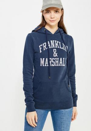 Худи Franklin & Marshall. Цвет: синий