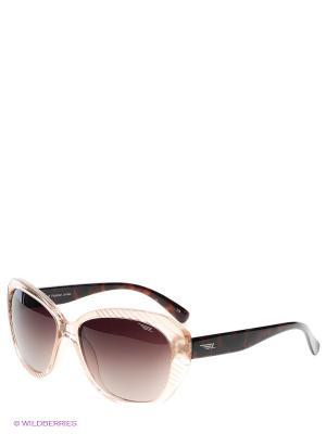 Солнцезащитные очки Legna. Цвет: коричневый, бежевый