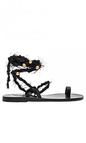 Сандалии clotho Ancient Greek Sandals. Цвет: черный
