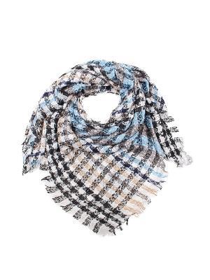 Платок Migura. Цвет: белый, голубой, серый