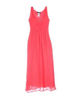 Длинное платье JEI O'. Цвет: красный