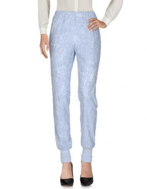 Повседневные брюки FALCON & BLOOM. Цвет: небесно-голубой