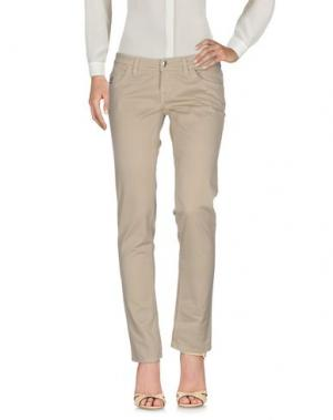 Повседневные брюки HOGAN. Цвет: бежевый